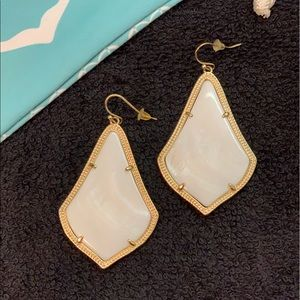 Kendra Scott Alexandra Large White Mother of Pearl